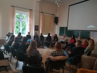 Zajęcia warsztatowe  w Stanominie