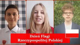 Patriotyczny weekend. Święto Flagi oraz Konstytucji 3 Maja. Uczniowie składają Polsce życzenia! [FIL