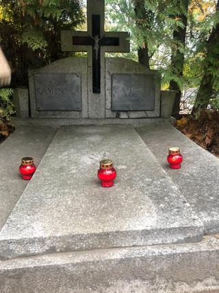 Wizyta na cmentarzu klasy 3d
