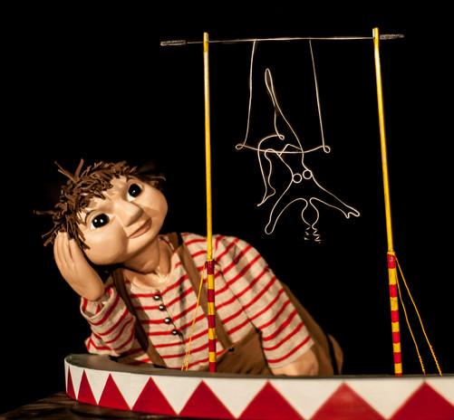 Le Gamin et le petit cirque