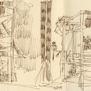 Vue des coulisses : la visite du Chambellan / Final