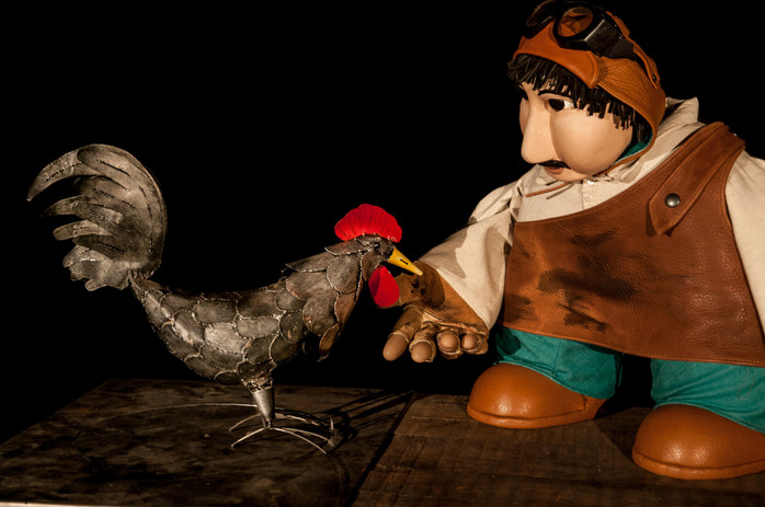 Le coq et le Forgeron