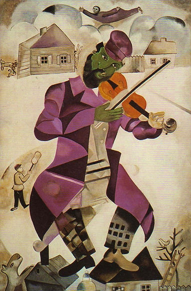Le violoniste vert