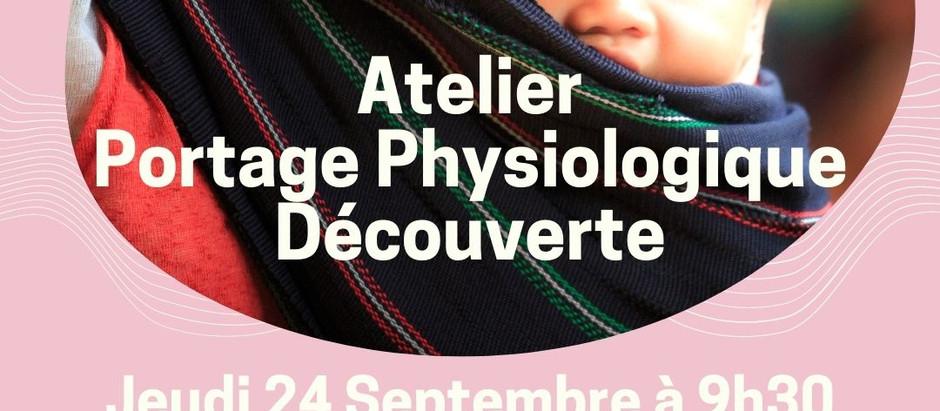 Atelier de portage Clermont Ferrand 63