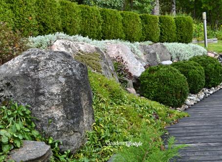 Tasojen puutarha - vierailu rinnepihalla