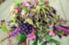 Marja-aronia kukkakimppu