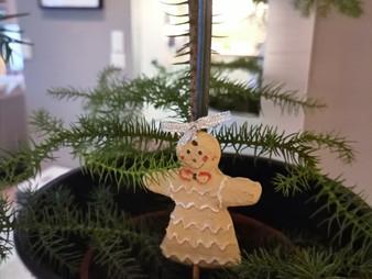 Joulukuusi on kannettu sisälle