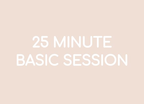 25 Minute Basic Session - 03:30s Music