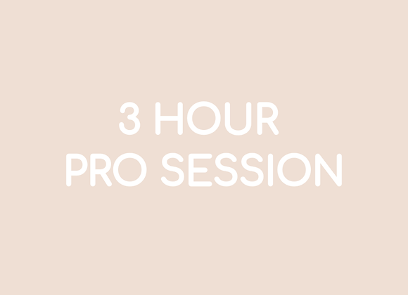 3 Hour Pro Session - 20:00s Music