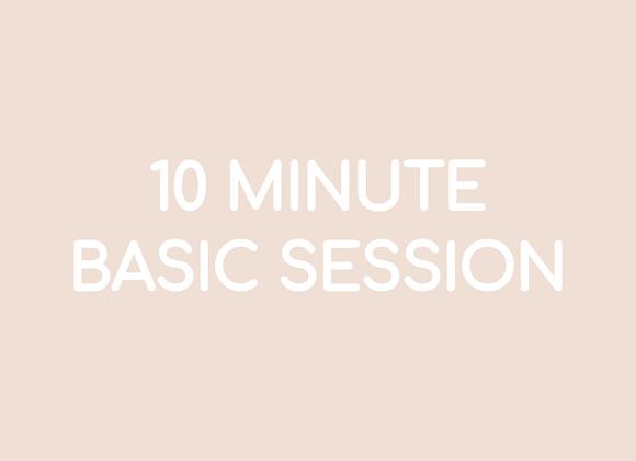 10 Minute Basic Session - 01:30s Music