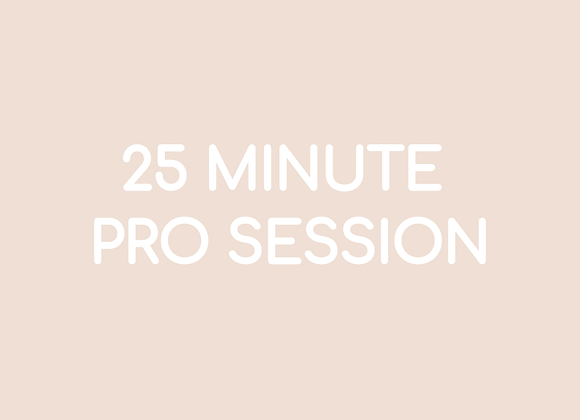 25 Minute Pro Session - 03:30s Music