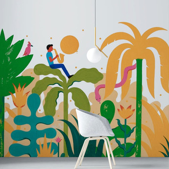 fresque-jungle-maternelle