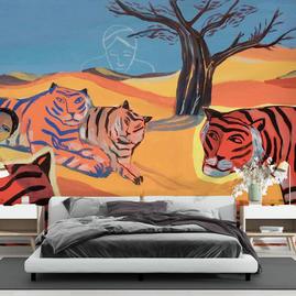 Tigres (L.Corvaisier) - réf : LC-01