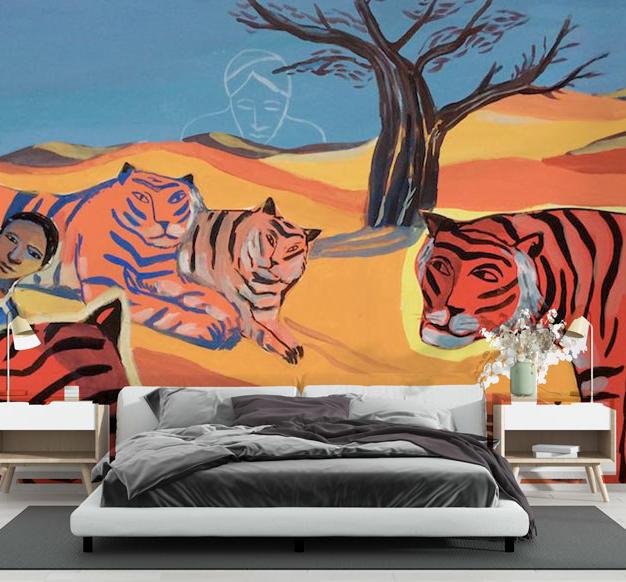Tigres (L-Corvaisier) - réf : LC-01