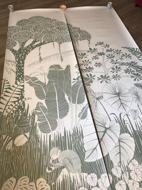 Papier peint Amazonie