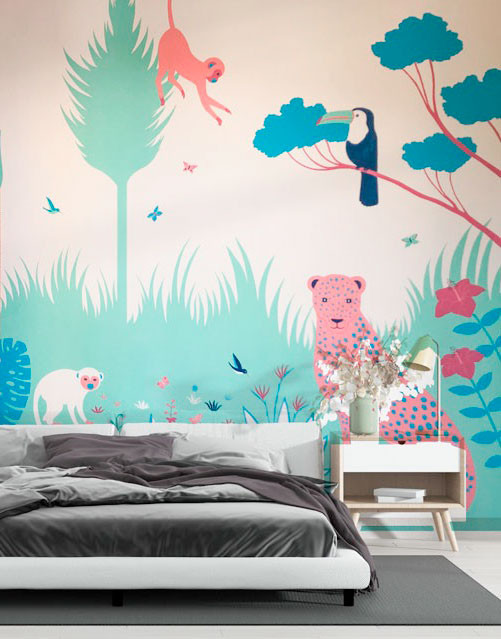 fresque-murale-jungle