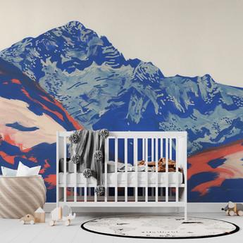 montagne-papier-peint-enfant