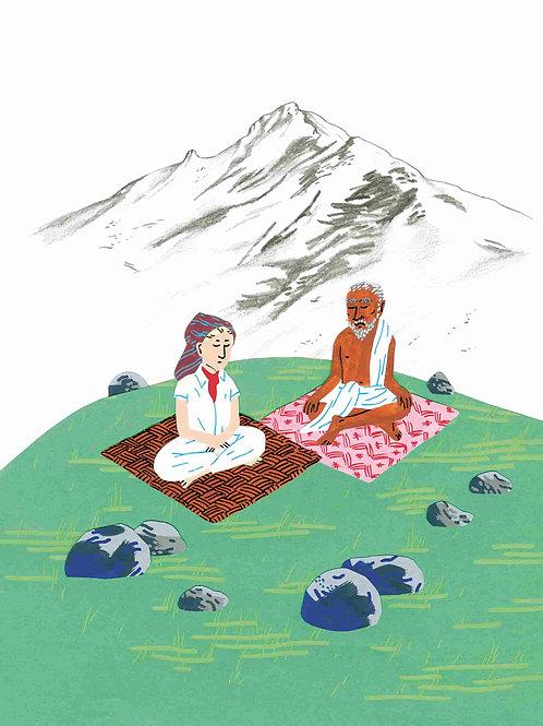 The sacred mountain Arunachala