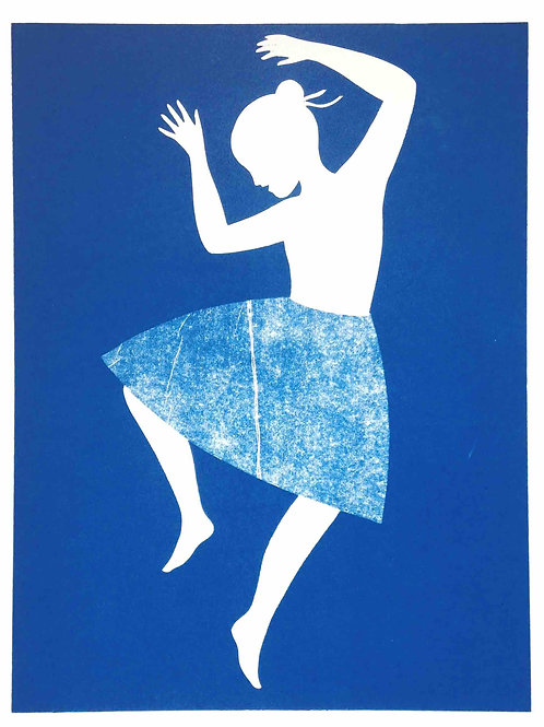 Blue dancer