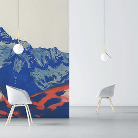 Montagnes vivantes (G.Alibeu) - Réf : GA-02