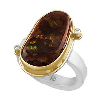 Silver Gold Brown Oval Stone Diamond.jpg