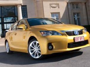 Irene and the Hybrid  Lexus CT