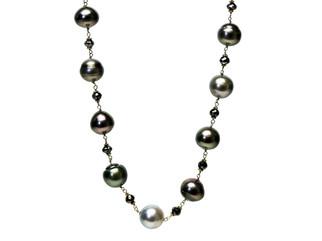 Black Diamonds & Tahitian Pearls