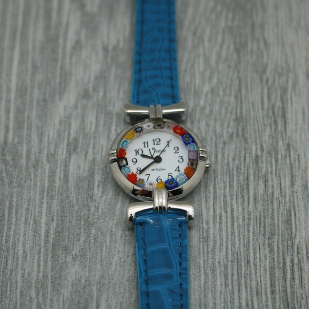 Hand Blown Glass Watch