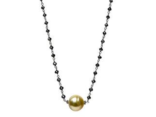 Black Diamonds & Golden South Sea Pearl Center