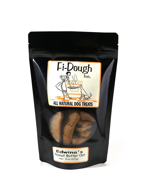 Edwina's Peanut Butter Oat, Medium Treats, 8oz