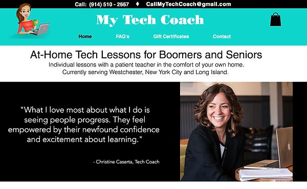 Christine Caserta, Call My Tech Coah