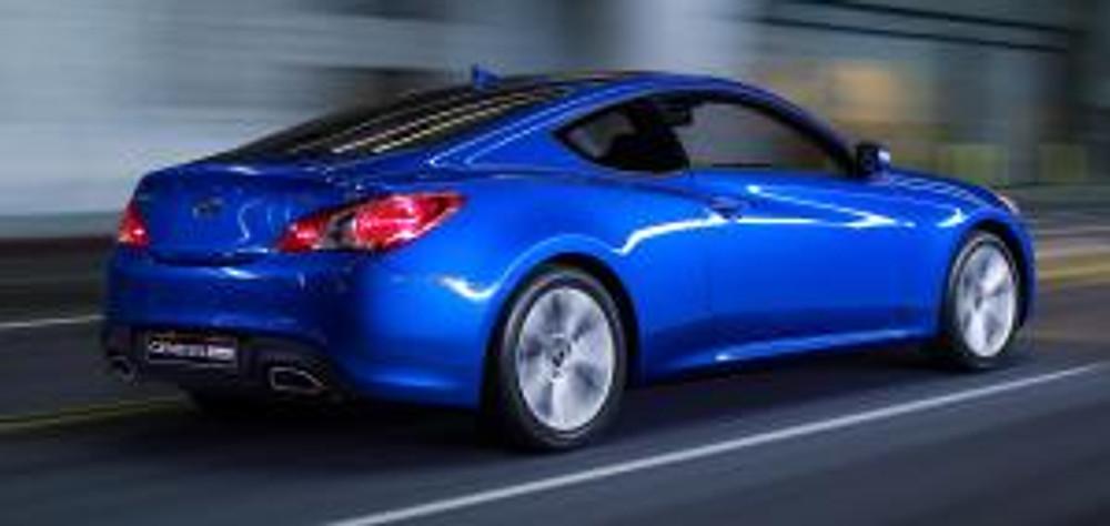 10 Hyundai Genesis Coupe - rear profile