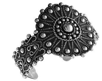 Stirling_Silver_Southwestern Bracelet Cu