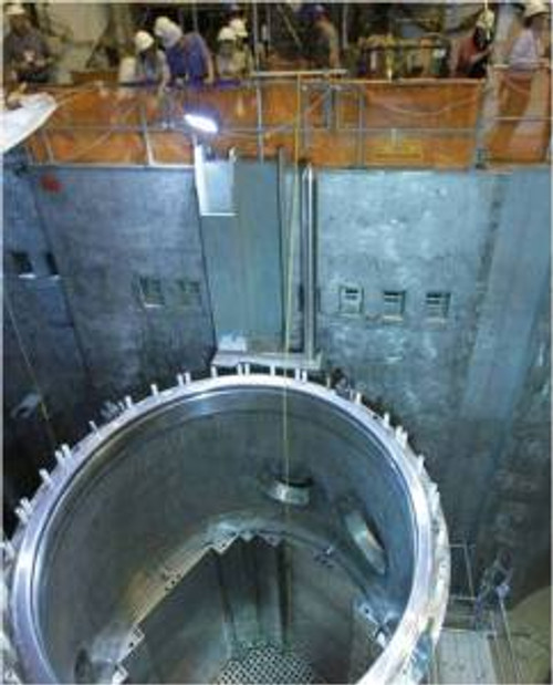 Inside PWR Reactor at Watts Bar
