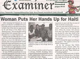 Christine Caserta, Entrepreneur, Hands Up for Haiti