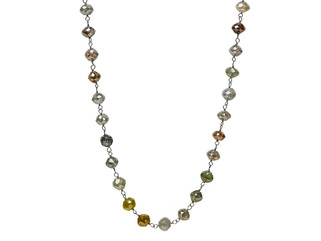 Multi-Color Round Diamonds