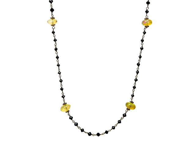 Black Diamonds & Opal Scatter
