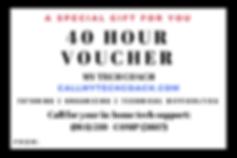 Gift Certificate, Computer lessons for Seniors, CallMyTechCoach.com