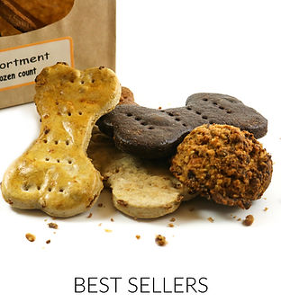 Premium Organic Dog Treats made in the USA - Best Sellers