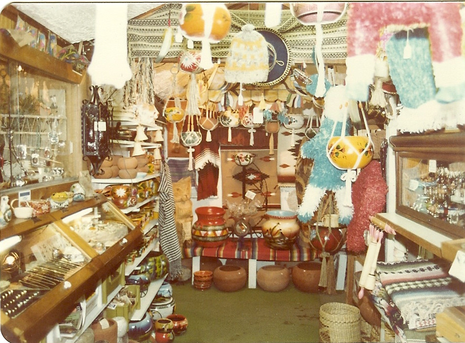 600 square feet packed with treasures, 1975