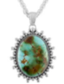 Silver Green Turquoise Oval Long.jpg