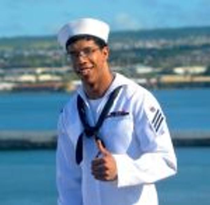 Maurice Enis - navigator - USS R Reagan - Hawaii