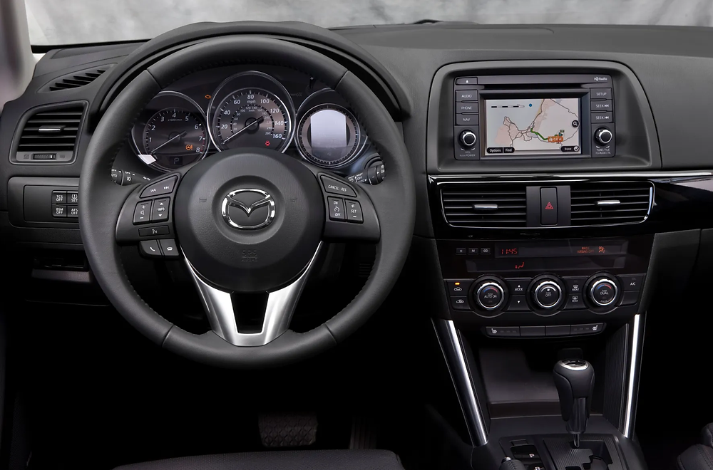 13 Mazda CX-5 - dash