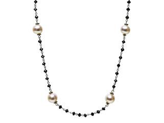 Black Diamonds & White Culture Pearls
