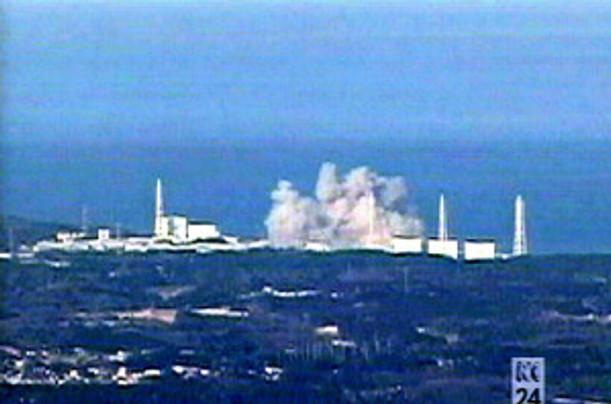 TEPCO Pix - Hydrogen Explosion 3-15-11