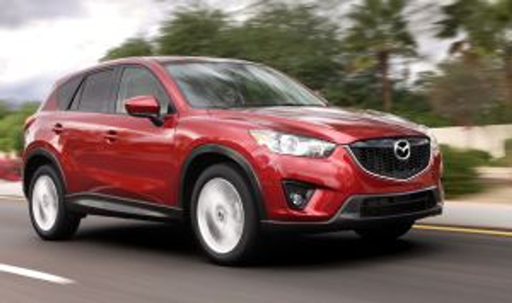 13 Mazda CX-5 - front profile
