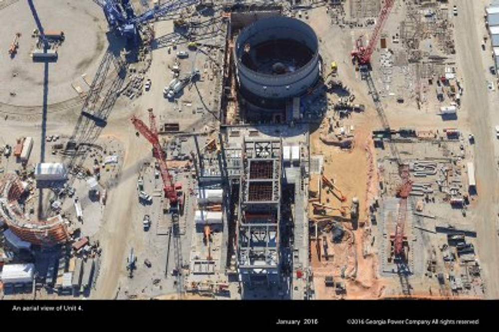 Vogtle 3 and 4 Construction Site 2 - Courtesy Georgia Power
