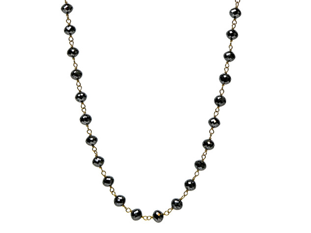 Black Round Diamonds (Large)