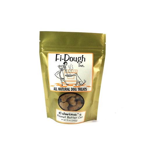 Edwina's Peanut Butter Oat, 5oz ($8.50) or 8oz ($12.50) Itty Bitty Treats
