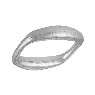 Sterling Silver hammered bracelet from Taxco, Mexico